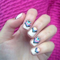 Instagram photo by pinkinpolish #nail #nails #nailart