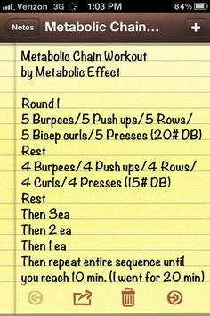 Weekend Workout by Metabolic Effect » Get Fit Naturally   Get Fit Naturally