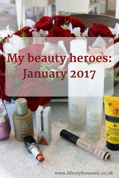 My beauty heroes January 2017. A review of the best makeup and skincare products I've tried this month, specifically for mature skin