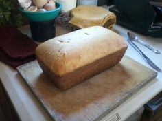 How to make organic homemade bread by Merlyn Seeley