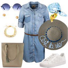 Me encanta este outfit creado por la comunidad de fashionistas de DressingLab. Si quieres saber en dónde comprar cada prenda haz clic en la imagen. (