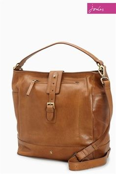 e6a2130b5e8 Buy Joules Tan Belsize Leather Shoulder Bag from the Next UK online shop