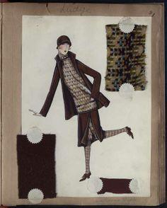 LUDGE Paris SPORT AOUT 1929 © Patrimoine Lanvin. #Lanvin125