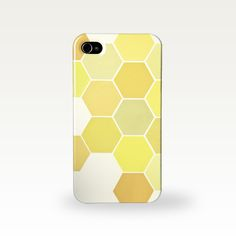Title: Shades of Yellow Add a little personality to your phone with this snap on case. Adorn your phone with a honeycomb pattern in various shades of yellow. One hard case to fit the iPhone Plus or Samsung Galaxy and . Iphone 4, Iphone Cases, Honeycomb Pattern, Samsung Galaxy S3, Shades Of Yellow, Handmade Items, Handmade Gifts, Unique Jewelry, Mustard