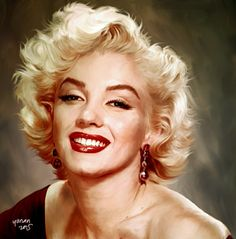 Keisengan lagi.. #smudge #painting #adobe #photoshop #marilynmonroe