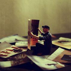 Dreamlike and Surreal Self-Portrait Photo Manipulations by Achraf Baznani #inspiration #photography