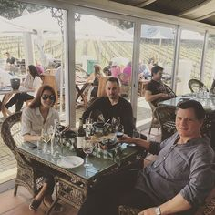 Our guests are enjoying their lunch time at the glass house of Glass House, Lunch Time, Wine Making, Day Tours, Day Trip, Two By Two, Soup, African, Classic