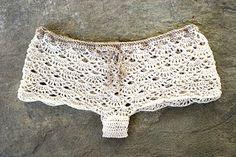 Pantalones cortos shorts de crochet Vintage shorts de por MarryG