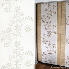 Ikea ANNO INEZ window panel curtain - place on wire so it slides to cover openshelving or the windows Room Divider, Wall Patterns, Paneling, Ikea, Curtain Decor, Curtains, Panel Curtains, Sheer Curtain Panels, Curtains With Blinds