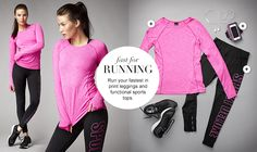 Fast For Running | Gina Tricot Active Sports | www.ginatricot.com | #ginatricot