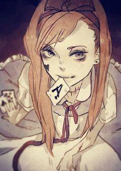 Alice in Wonderland vs. American McGee's Alice — асоциаРLewis Carroll, Alice Liddell, Alice Madness Returns, Dibujos Dark, Character Inspiration, Character Design, Art Anime, Animation, Kawaii