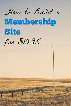 A step-by-step guide on how I built my membership portal, including the plugins, payment processing, and video hosting solutions I found.