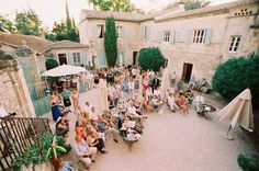 A French Chateau Very Small Intimate Gathering For Close Friends