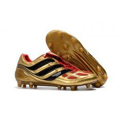 4c41c1dc292e Ofertas Botas de Futbol Adidas Predator Precision FG Hombre Oro Negras Rojas