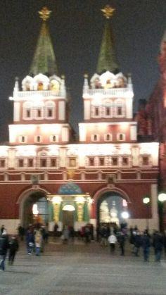 Moscou - Praça Vermelha by night
