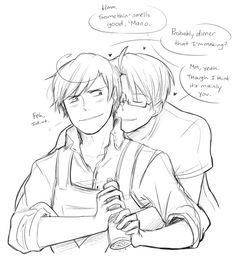 new ship...? provly a rare one but kinda cute. I think my brain is full of what-ifs on who falls in love