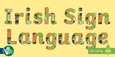 Sign Language Classes Available