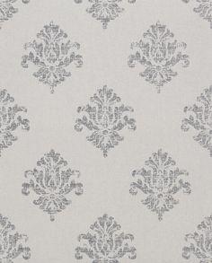 Wallpaper Design 'Yala' reference 4400025 - Silver #Paper Moon #Interior Design #Wallpaper