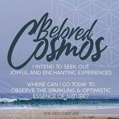 Joyful, West Coast, Cosmos, I Can, Affirmations, Insight, Universe, Canning, Motivation