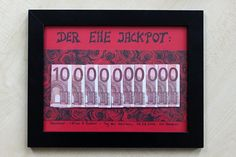 Ihr investiert 100€ und könnt dem Brautpaar den Ehe-Jackpot überreichen: 10 MILLIARDEN EURO! | Bastelanleitung | Schritt-für-Schritt | Schnell & einfach!