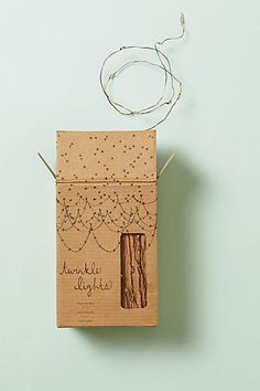 Twinkle Lights #anthropologie