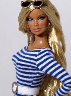 OOAK Fashion Royalty Doll.