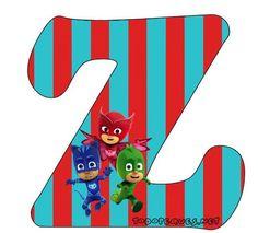 Abecedario-heroes-en-Pijamas-Letra-z-Letters-Pj-Masks.jpg (491×444)