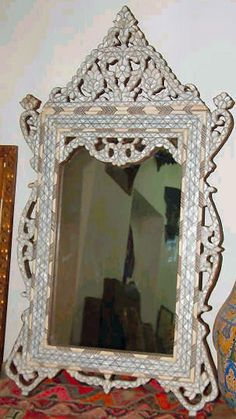 mother of pearl moroccan furniture