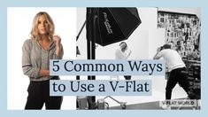 Jeff Carpenter demonstrates the 5 most common ways to use a V-Flat. He demonstrates using the V-Flats for fill light, subtracting light, background, to light. Woodworking Guide, Custom Woodworking, Woodworking Projects Plans, Teds Woodworking, Yoga Photography, Photography Studios, Fill Light, Detailed Drawings, Yoga Fashion