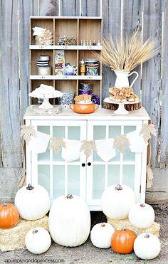 Pumpkin Decorating Party Fall Decor