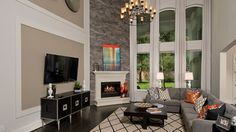 Toll Brothers - The Vallagio Bordeaux Professionally Decorated Model Home