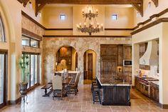 Cedar Street - mediterranean - kitchen - austin - by Vanguard Studio Inc. // houzz.com