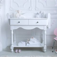 Fancy - Hestia Dresser And Changing Table by BAMBIZI