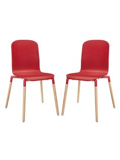Stack Wood Dining Chairs (Set of 2) from Buyers' Picks: Dining Room on Gilt