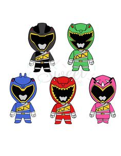Power Rangers / Dino Charge / Cut File / Cameo Projects /