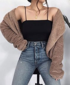 Korean Fashion – How to Dress up Korean Style – Designer Fashion Tips Casual Fall Outfits, Teen Fashion Outfits, Girly Outfits, Look Fashion, Pretty Outfits, Stylish Outfits, Girl Fashion, Fashion Pics, Fashion Clothes