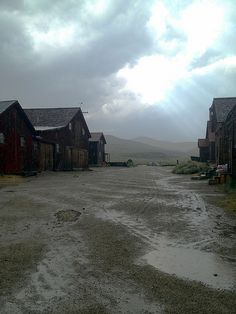 Inside the ghost town of Bodie, CA.