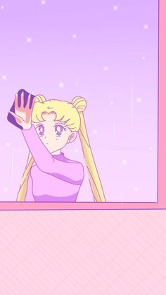 Usagi clean window snow S♡Virgo Sailor Moon Manga, Sailor Moon Art, Sailor Moon Crystal, Sailor Moon Background, Sailor Moon Wallpaper, Sailor Moom, Sailor Uranus, Sailor Moon Aesthetic, Aesthetic Anime