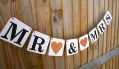 Hand stamped chipboard banners