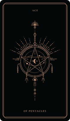 ACE OF PENTACLES The Aces meaning points to a new beginning and a fresh start. It tells the asker it's time to take init Witch Wallpaper, Ace Of Pentacles, Tarot Tattoo, Ace Card, Art Carte, Tarot Major Arcana, Tarot Card Meanings, Witch Aesthetic, Book Of Shadows