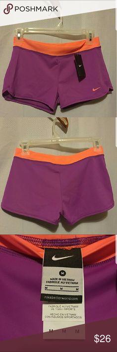 Nike workout shorts.. Nike workout shorts.Size medium but more like small.new never worn.Purple color. Nike Shorts