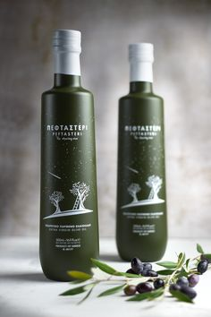 Peftasteri Olive Oil - The shooting star  By Aspa Chroneou on Behance