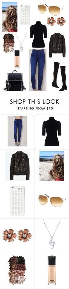 """""""Sans titre #2062"""" by amandine-collet ❤ liked on Polyvore featuring Loeffler Randall, PacSun, Theory, Jakke, MICHAEL Michael Kors, Tom Ford, BERRICLE, LORAC and MAC Cosmetics"""