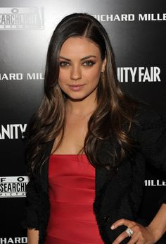 Mila Kunis - Good actress, and funny!