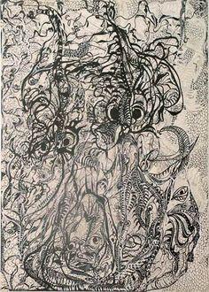 Unica Zürn | drawings