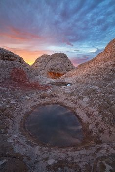 The Eye, White Pocket, Vermillion Cliffs Wilderness, Arizona; photo by David Thompson