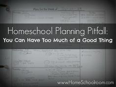 #Homeschool Planning Pitfalls from @HomeSchoolrm