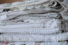 Linen love.   SHE Designs http://designsbyshe.blogspot.com/