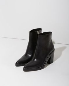 MINIMAL + CLASSIC: Alexander Wang Kelli Ankle Boot