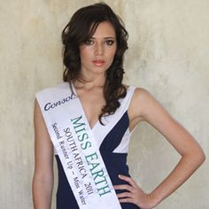 """""""Working together to be the change our world needs."""" Kirsten Dukes   Model and South Africa's 'Miss Earth'   Ambassador"""
